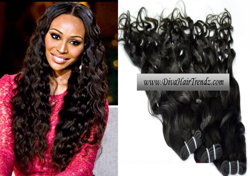 "14, 16 & 18"" Indian Remy Natural Wavy Hair [3 Bundles] on Storenvy"