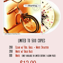 "The Starting Line- With Hopes Of Starting Over Ep(10"" Vinyl Re-issue) Limited to 500 Total Copies"