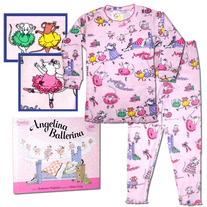 Books To Bed- Angelina Ballerina Book and PJ set