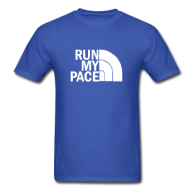 Run my pace charcoal blue