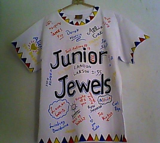 Junior jewels t-shirt