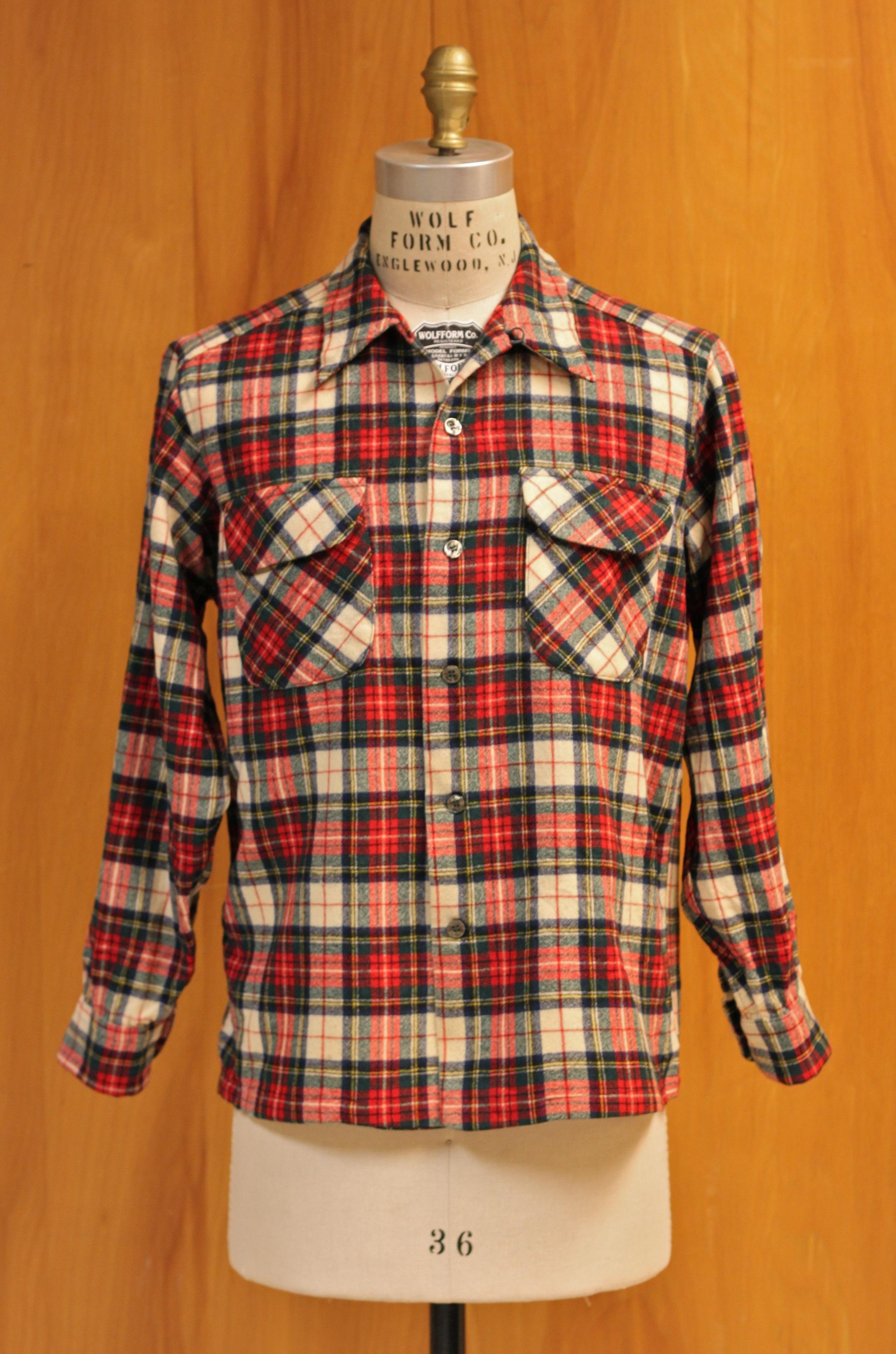 Men's Pendleton Woolen Mills Wool Button Down Vintage Shirt - Size Medium k6DY0EF2