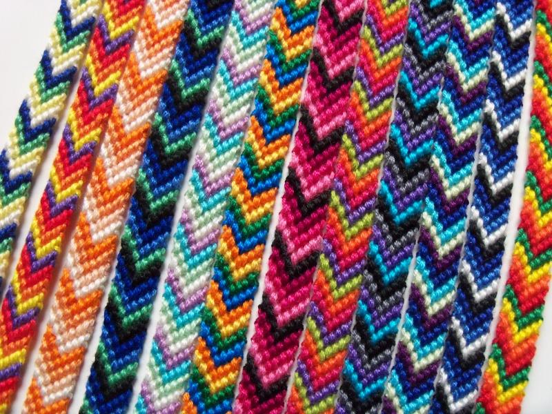 Le bracelet chevron