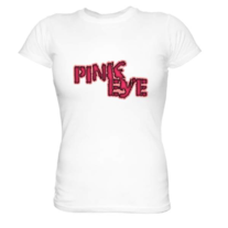 Pink Eye Logo Tee Ladies Short Sleeve