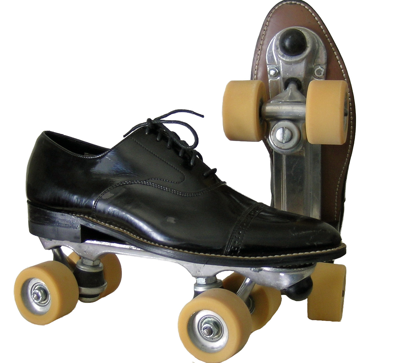converse roller skates. black patent stacy baldwin roller skates with labeda wheels - men\u0027s size 9.5 2nd life converse s