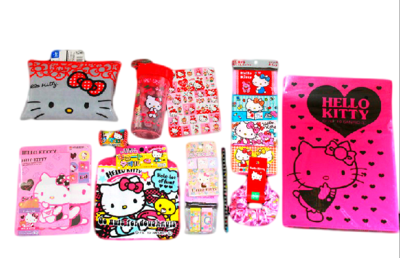 Hello kitty surprise package full of cute hello kitty goods hello kitty surprise package full of cute hello kitty goods voltagebd Choice Image