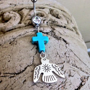 Thunderbird Belly Ring