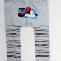 Vintage Style Minnie Mouse Legging Pants Baby Girls 3mos to 4T