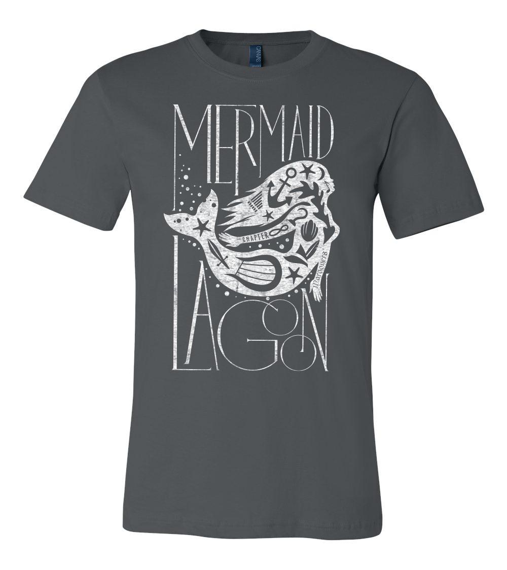 Unisex Dark Mermaid Lagoon T Shirt New Peter Wendy