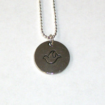 Hope Dove Necklace