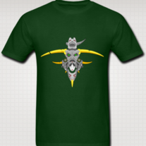 """TOTEM (Eye Gaze) Shirt for Men (Green)"