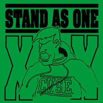 "Stand As One ""Begin to Care"" 7"""