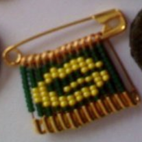 Handmade Packer Pin