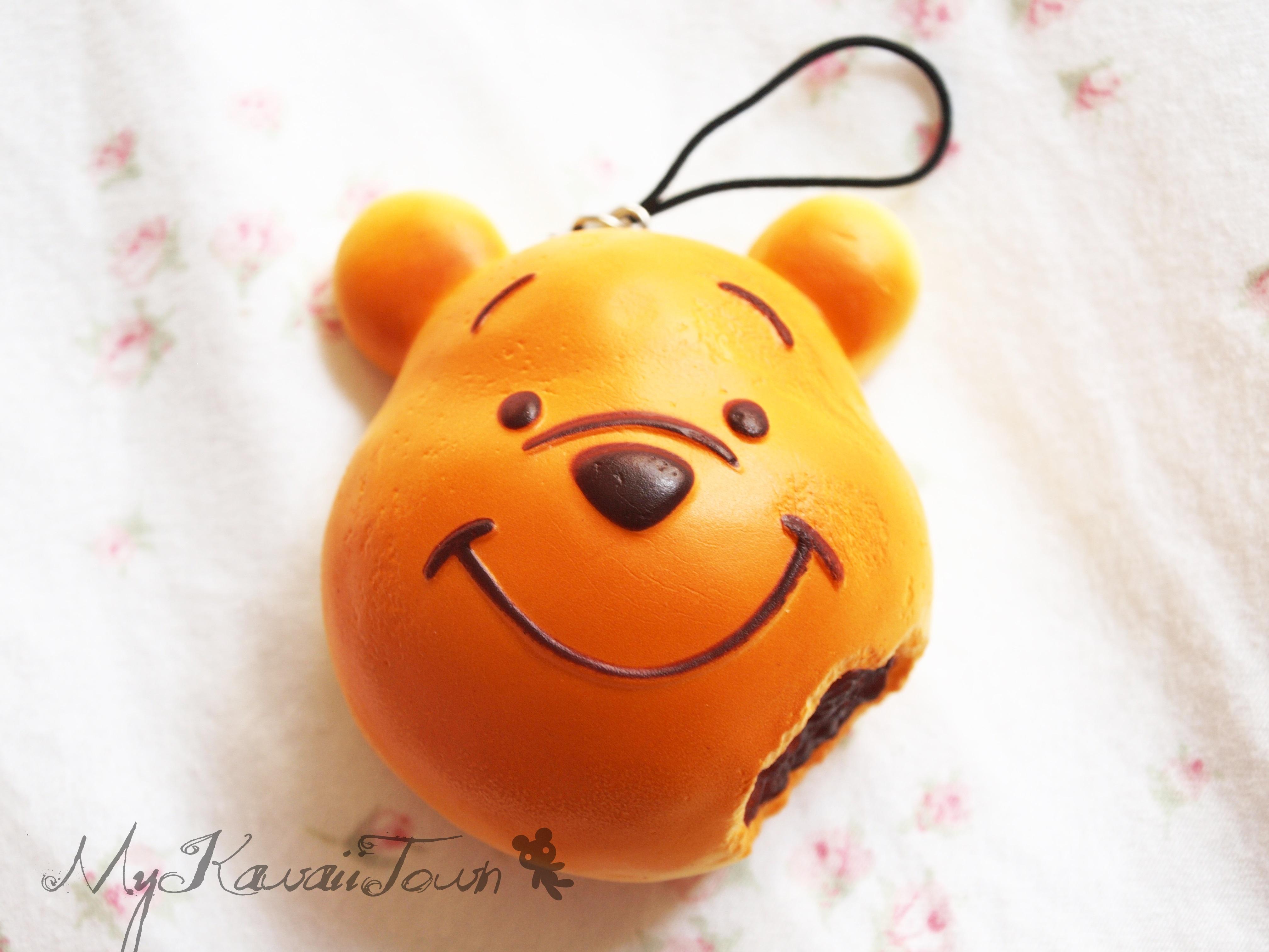 My Squishy Bun Collection : Mykawaiitown Squishy Winnie The Pooh Bean Bun Online Store Powered by Storenvy