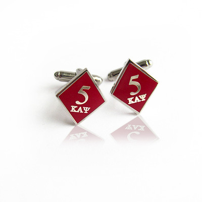 5 klub kappa alpha psi diamond cufflinks