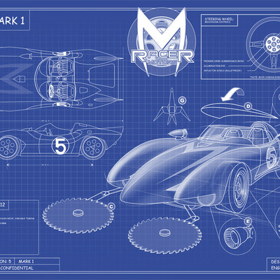 Speed racer mach 5 blueprint kohse online store powered by speed racer mach 5 blueprint kohse online store powered by storenvy malvernweather Gallery