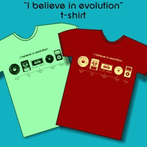 """I Believe In Evolution"" Tshirt"