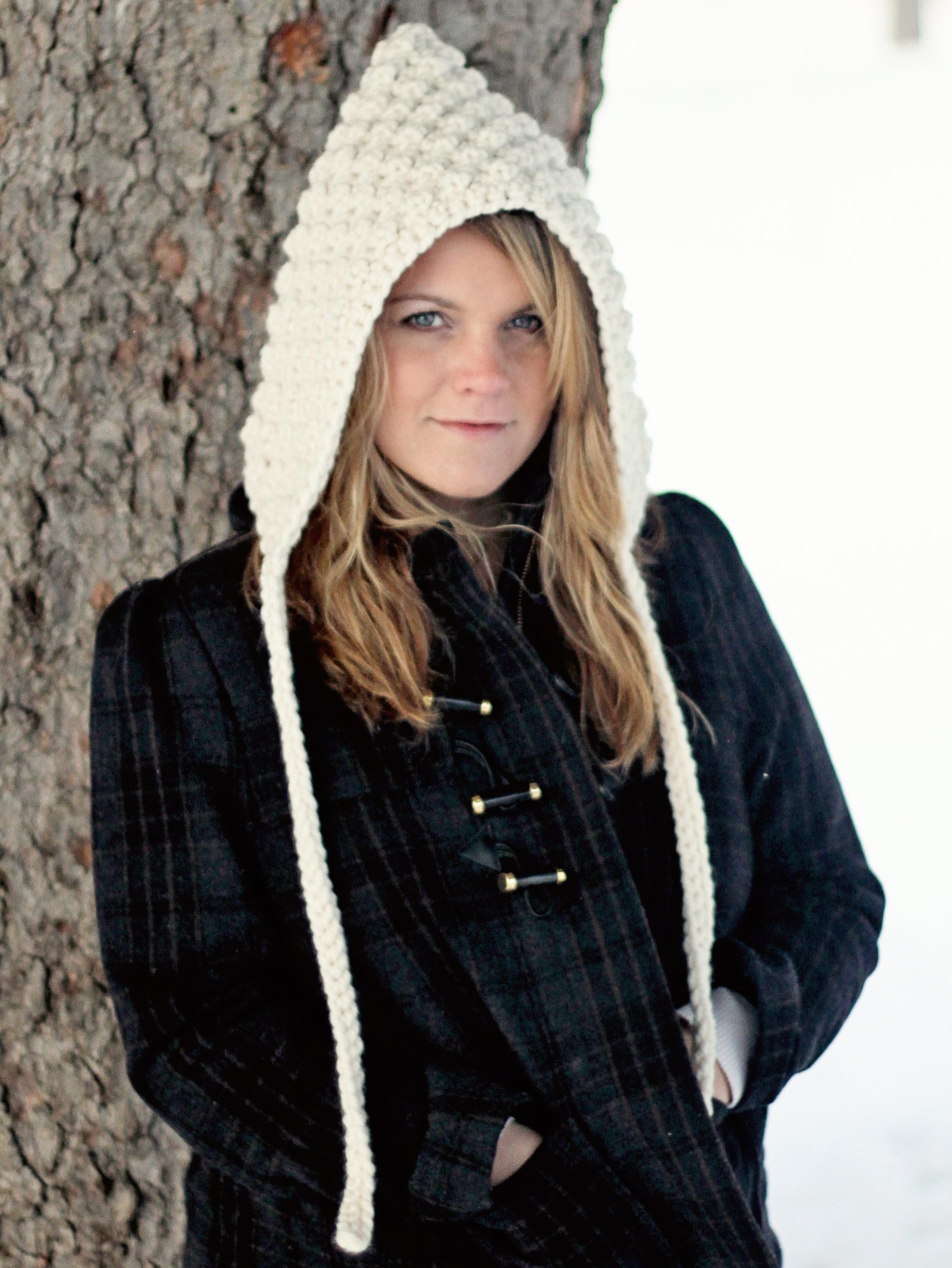 Crochet Pattern Hoodie Hat Oversized Hood The Denver Jocelyn