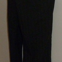 Black Pants with Red Pin Stripe-Motherhood Maternity Size Small