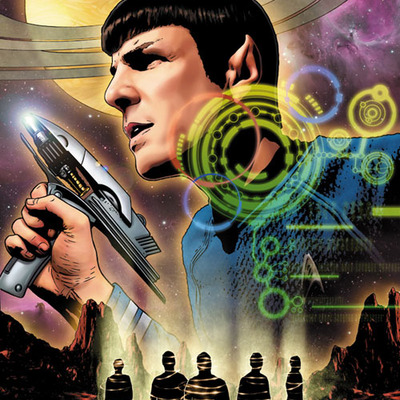 Star trek ongoing #33 (spock) artist print