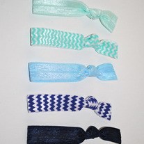 The Madison Set- 5 No-Crease Hair Ties