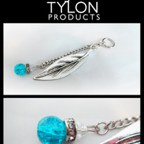 Feather & Chain Pendant