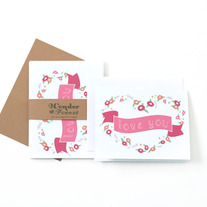 Love You Valentine (Set of 6)
