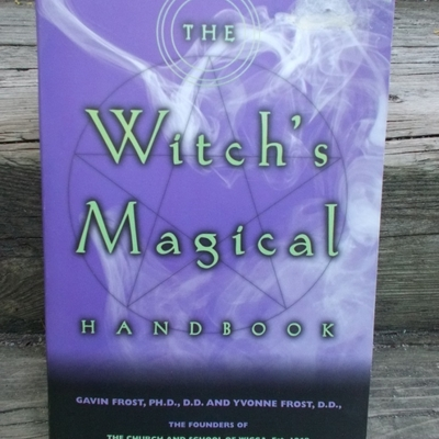 Witch's magical handbook school of wicca