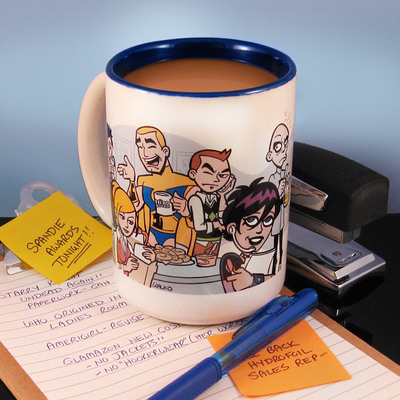 Hero business coffee mug