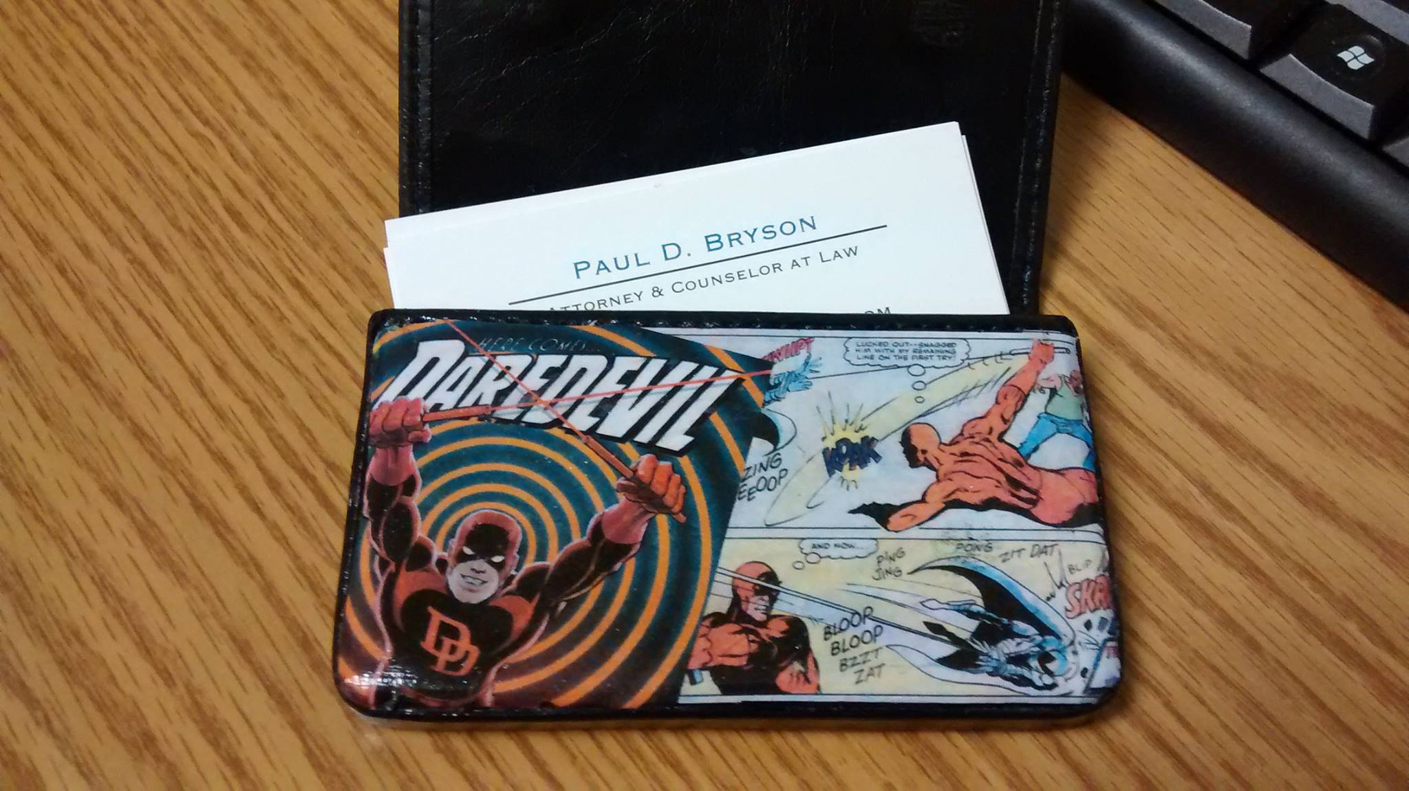 Comic Book / Pop Culture Business Card Holder · Kella Geeks ...