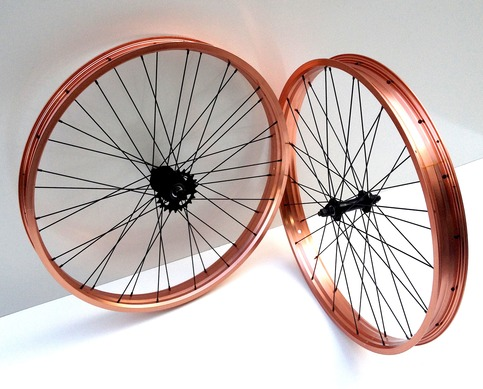"3G 26"" x 57mm Coaster Wheel Set"
