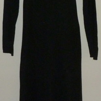 Black Sweater Dress-Mimi Maternity Size Large CLLO1