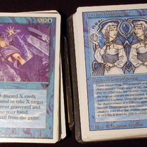 Built Blue Deck (mixed editions) Magic the Gathering