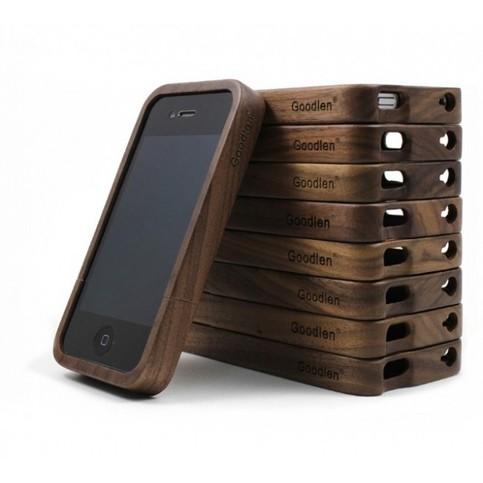 newyorkscene walnut wood iphone 4 4s 5 case online store powered by storenvy. Black Bedroom Furniture Sets. Home Design Ideas