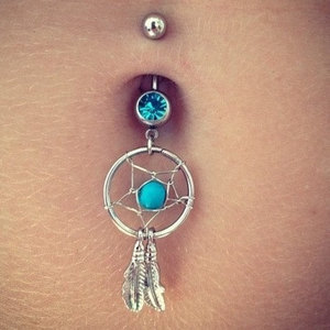 Dream Catcher Belly Ring
