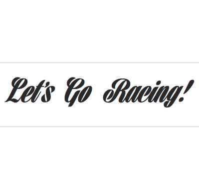 Let S Go Racing 183 Vinyl Guru 183 Online Store Powered By