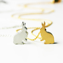 Mini Bunny Necklace