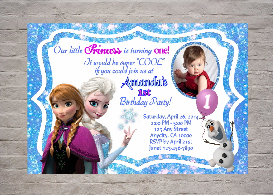 Frozen birthday party invitation wording quotes stopboris Images