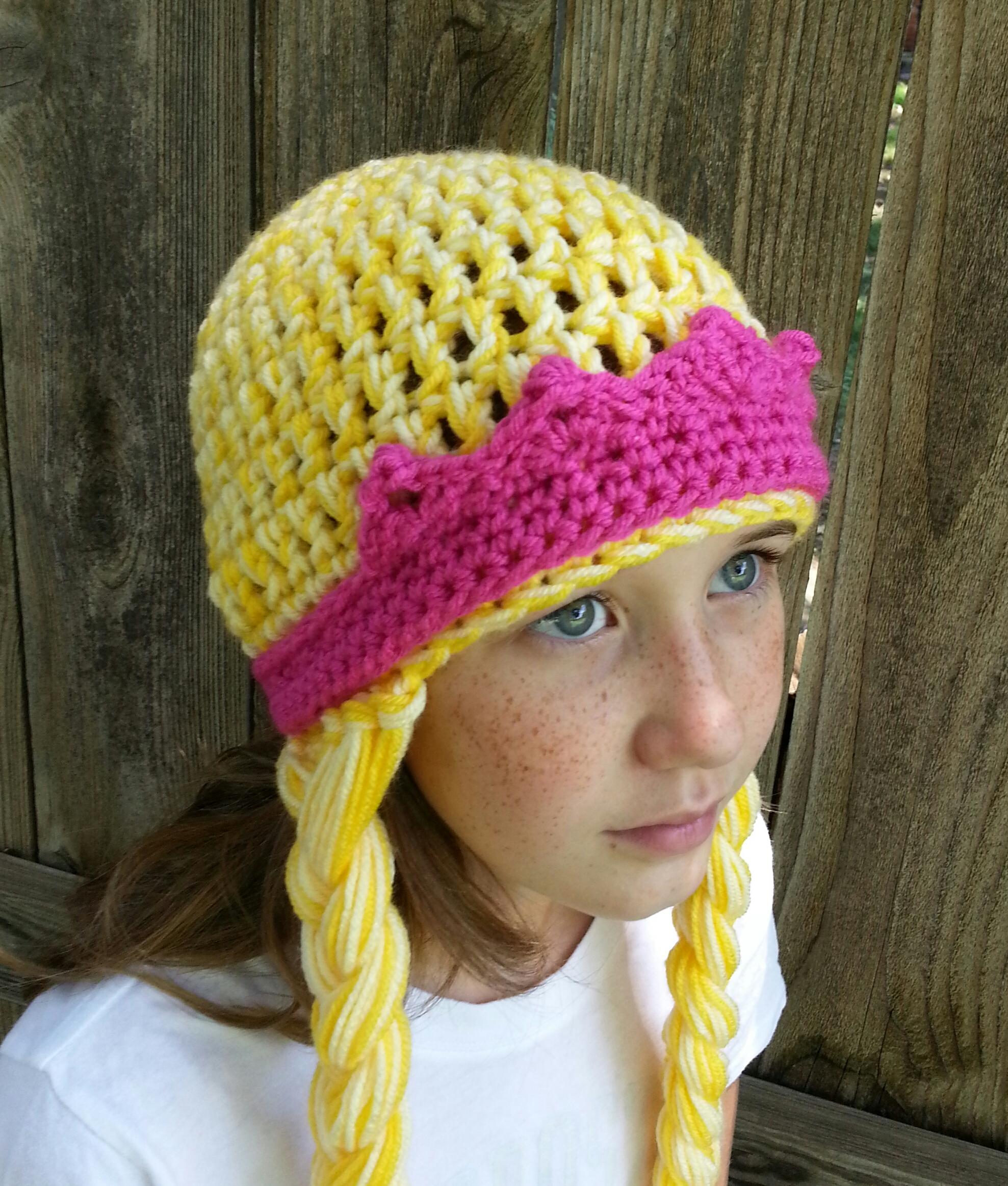 Rapunzel Crochet Hat www.galleryhip.com - The Hippest Pics