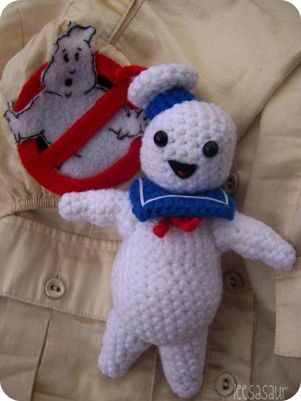 Ghostbusters Amigurumi Pattern : Stay Puft Amigurumi on Storenvy
