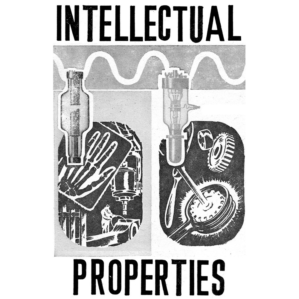 Itellectual Property: Intellectual Properties, Tape · Clean Plate Records