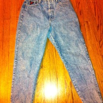 Women's Stonewashed Jeans