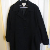 Worthington Black Wool Jacket XL
