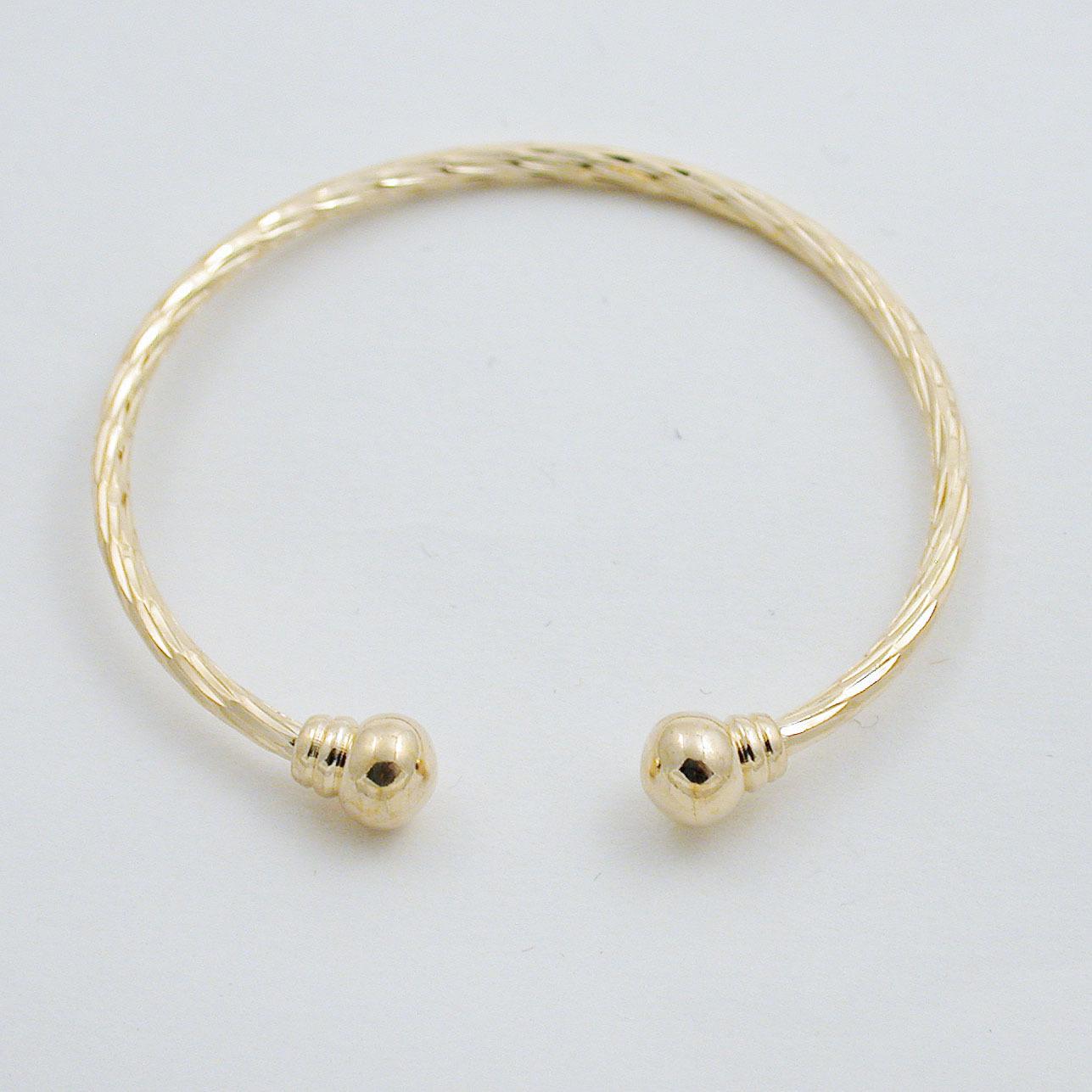 18k gold infant earrings
