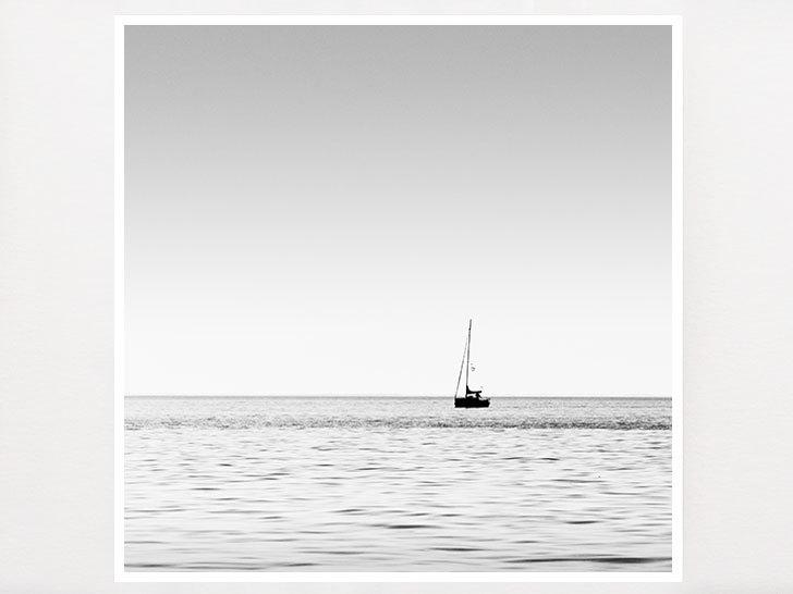 Sailboat art nautical decor sailboat photography minimalist minimalism ocean photography