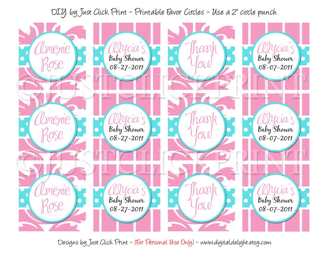 Tiffany Blue Pink Damask Baby Shower Invitation Pintable · Just ...