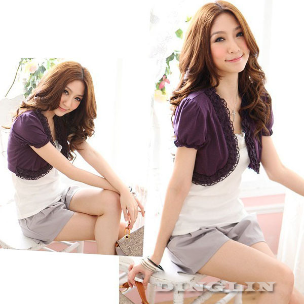 Collection Short Sleeve Ladies Jackets Pictures - Reikian