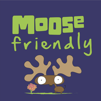 Moose Friendly Shirt (navy blue)