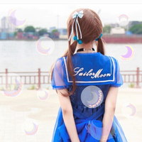 Dreamy Sailor Moon Organza Sailor Collar OP Dress SP141133 - Thumbnail 3
