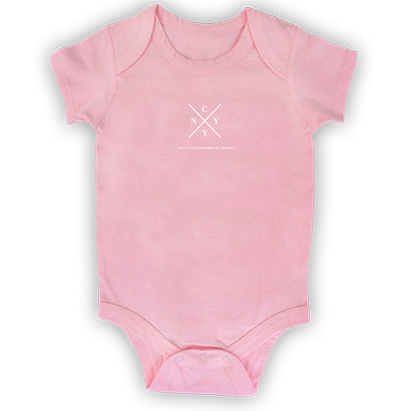 Light Pink Onesie (0-3m)